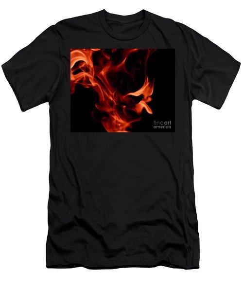 Fire Petals Men's T-Shirt (Athletic Fit)