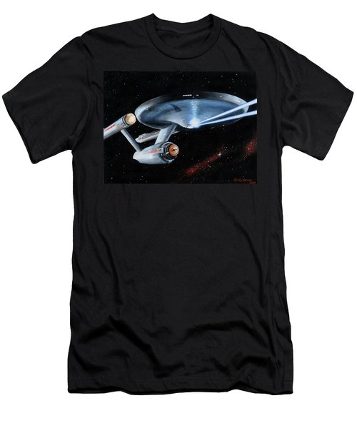 Fire Phasers Men's T-Shirt (Athletic Fit)