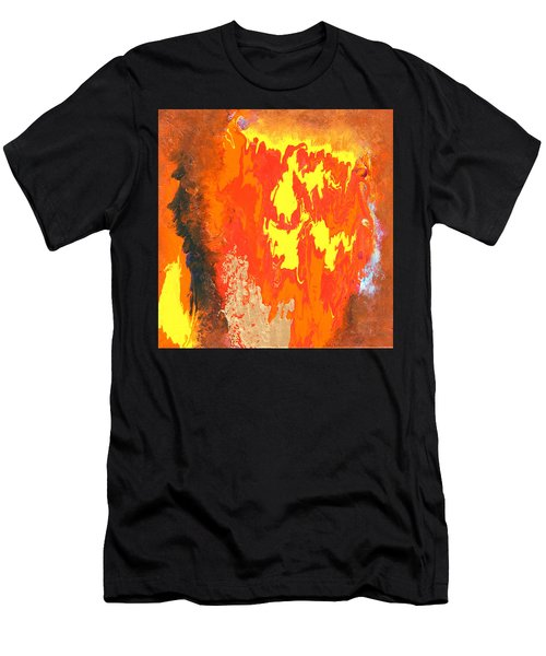 Fire Men's T-Shirt (Athletic Fit)