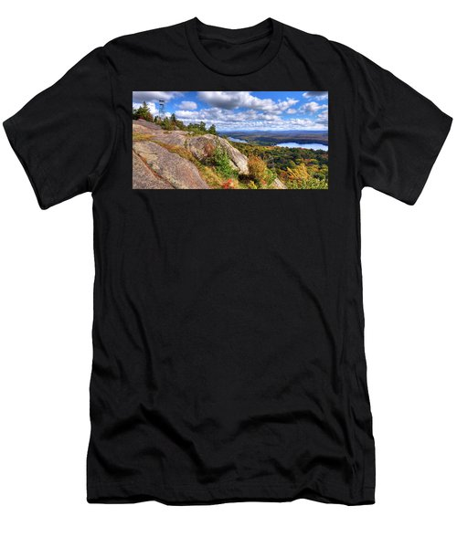 Fire Tower On Bald Mountain Men's T-Shirt (Athletic Fit)