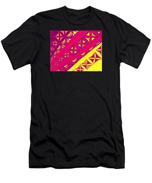 Fire Velvet Lace Men's T-Shirt (Athletic Fit)