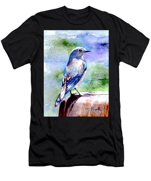 Firehole Bridge Bluebird - Female Men's T-Shirt (Athletic Fit)
