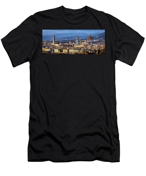 Men's T-Shirt (Slim Fit) featuring the photograph Firenze by Sonny Marcyan