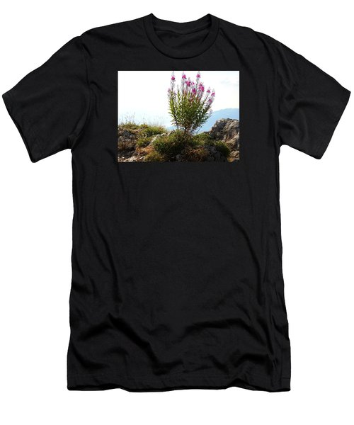 Fireweed Epilobium Angustifolium Men's T-Shirt (Athletic Fit)