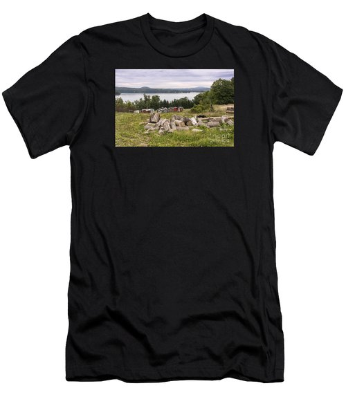 Firewood And Ice Houses Men's T-Shirt (Athletic Fit)