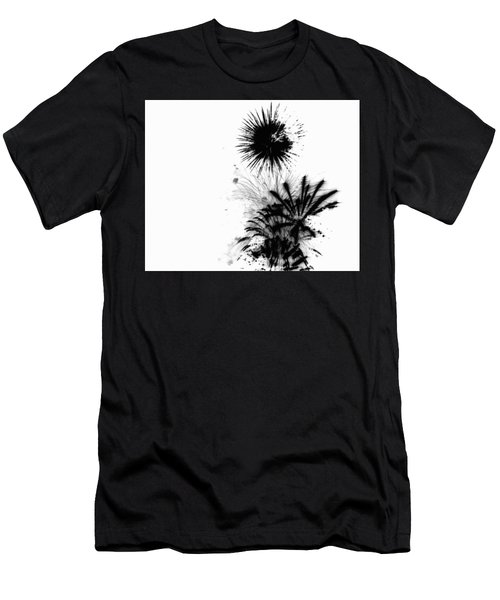 Firework Abstract 9 Men's T-Shirt (Athletic Fit)