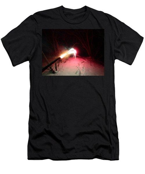 Fireworks Men's T-Shirt (Athletic Fit)