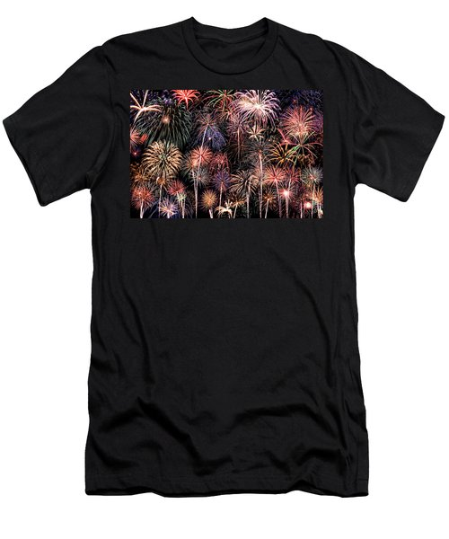 Fireworks Spectacular II Men's T-Shirt (Athletic Fit)