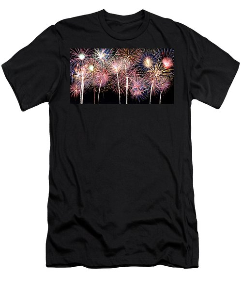 Fireworks Spectacular Men's T-Shirt (Athletic Fit)