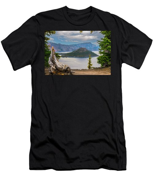 First Crater View Men's T-Shirt (Athletic Fit)