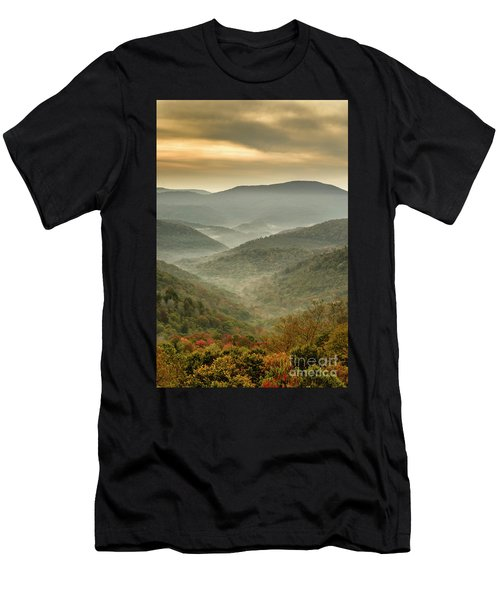 First Day Of Fall Highlands Men's T-Shirt (Athletic Fit)