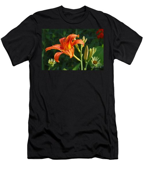 First Flower On This Lily Plant Men's T-Shirt (Athletic Fit)