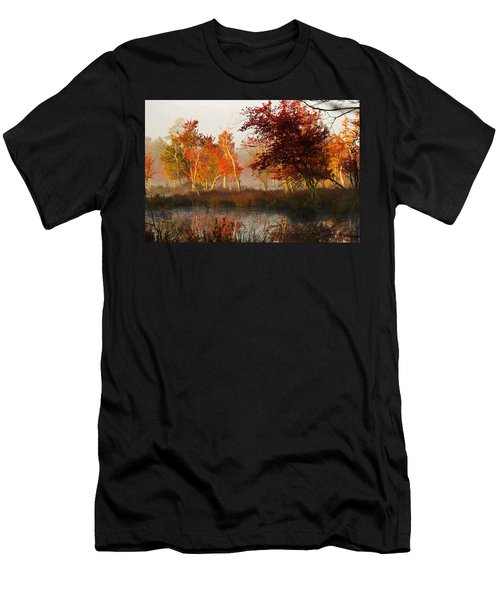 First Light At The Pine Barrens Men's T-Shirt (Athletic Fit)