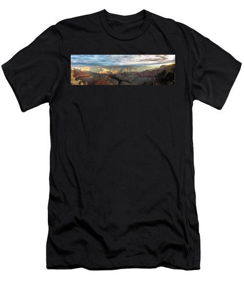 First Light In The Canyon Men's T-Shirt (Athletic Fit)