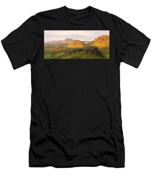 First Light Trotternish Panorama Men's T-Shirt (Athletic Fit)