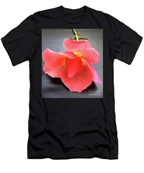 First Rose  Men's T-Shirt (Athletic Fit)