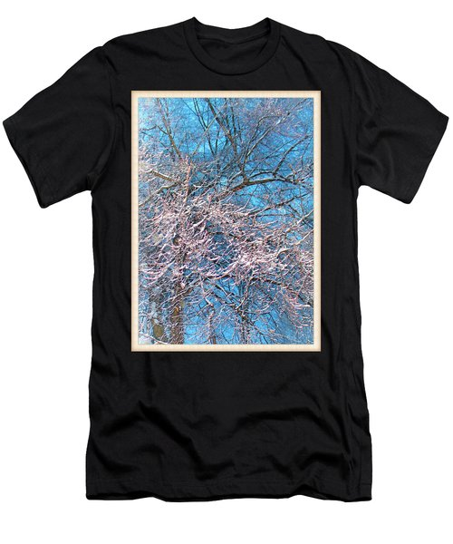 First Snow At Dawn Men's T-Shirt (Athletic Fit)