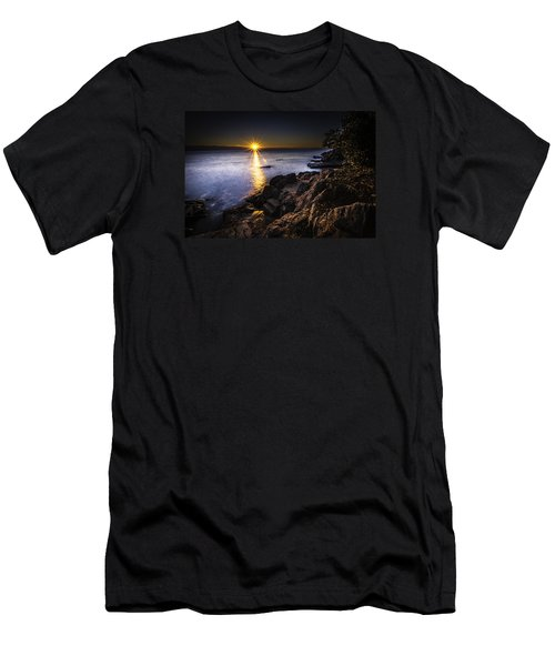 First Rays Over The Adriatic Men's T-Shirt (Athletic Fit)