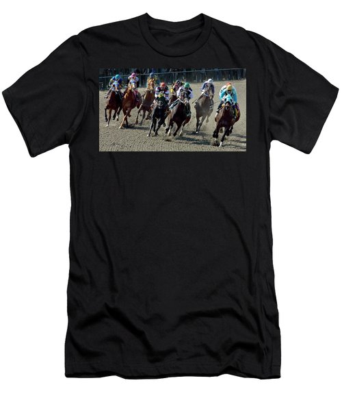 First Turn. Men's T-Shirt (Athletic Fit)