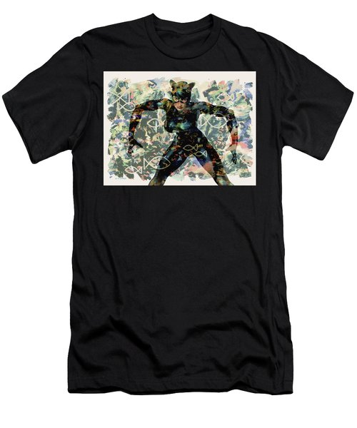 Fish And Kitty Men's T-Shirt (Athletic Fit)