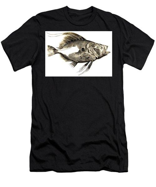 Fish Men's T-Shirt (Athletic Fit)