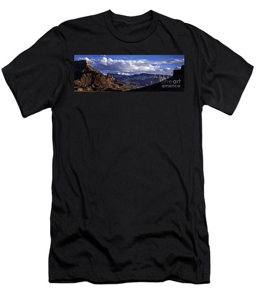 Fisher Towers Men's T-Shirt (Athletic Fit)