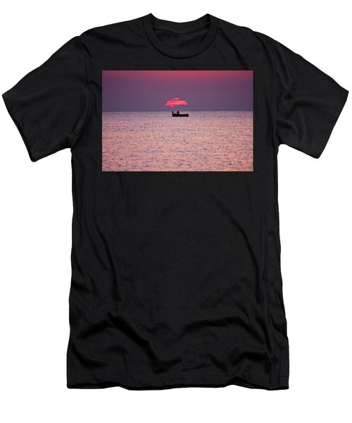 Fisherman Men's T-Shirt (Athletic Fit)