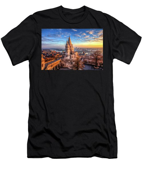 Fisherman's Bastion In Budapest Men's T-Shirt (Athletic Fit)