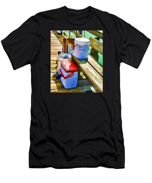 Fisherman's Buckets Men's T-Shirt (Athletic Fit)
