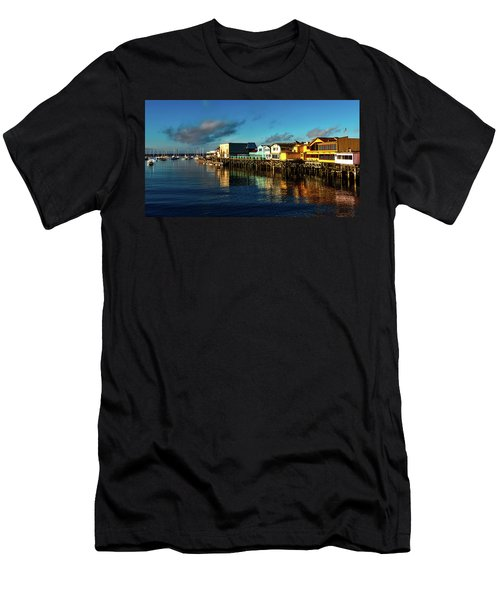 Fisherman's Wharf At Dusk Men's T-Shirt (Athletic Fit)