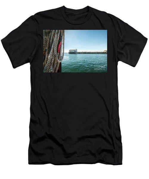 Fisherman's Wharf Men's T-Shirt (Athletic Fit)