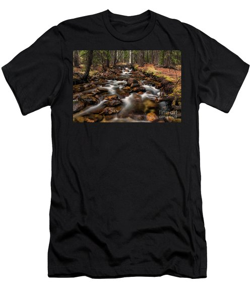 Fishhook Creek Waterscape Art By Kaylyn Franks Men's T-Shirt (Athletic Fit)