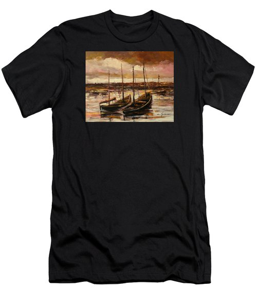 Fishing Cutters  Men's T-Shirt (Athletic Fit)