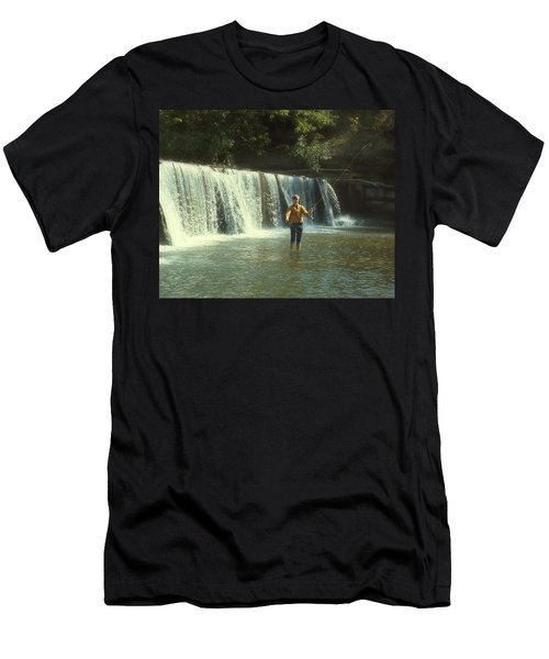 Fishing For Smallies Men's T-Shirt (Athletic Fit)