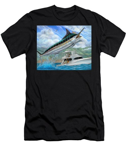 Fishing In The Vintage Men's T-Shirt (Athletic Fit)