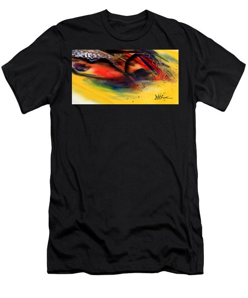 Fishtail Abstract Men's T-Shirt (Athletic Fit)