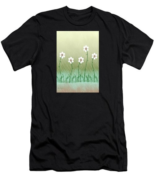 Five Days Of Daisies Men's T-Shirt (Athletic Fit)