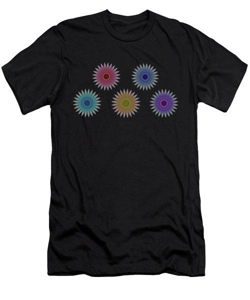 Five Flowers Men's T-Shirt (Athletic Fit)