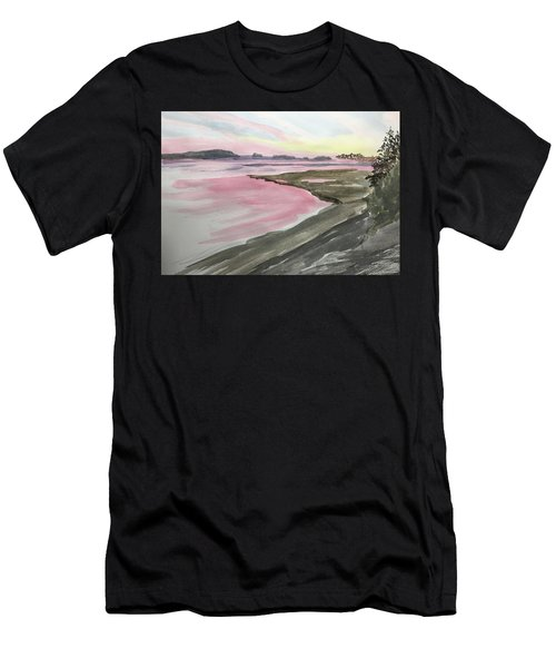 Five Islands - Watercolor Sketch  Men's T-Shirt (Athletic Fit)