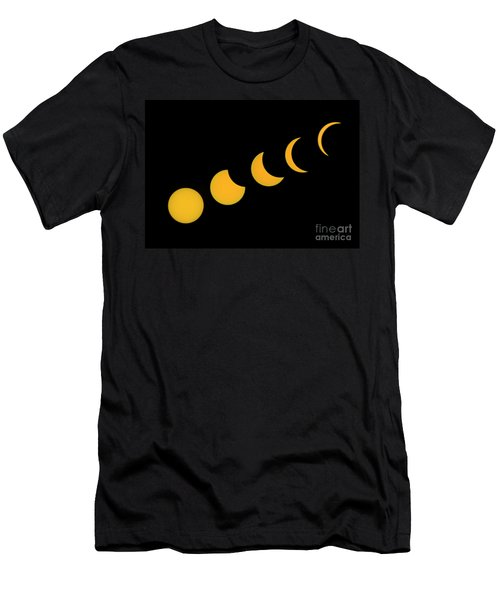 Five Phases Of The Eclipse Men's T-Shirt (Athletic Fit)