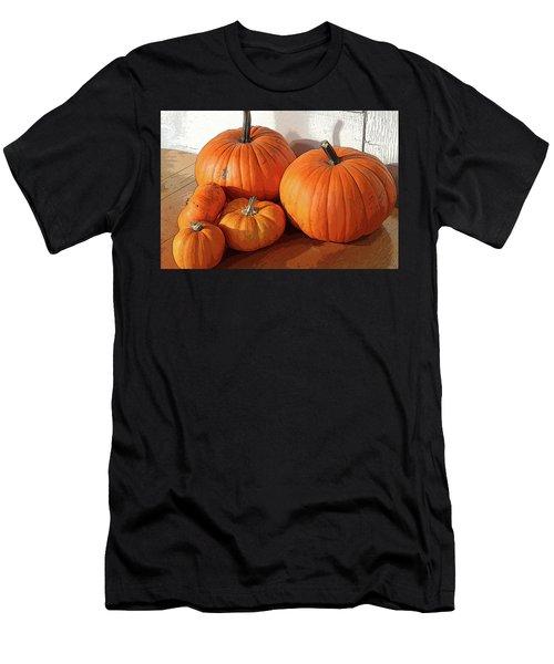 Five Pumpkins Men's T-Shirt (Athletic Fit)