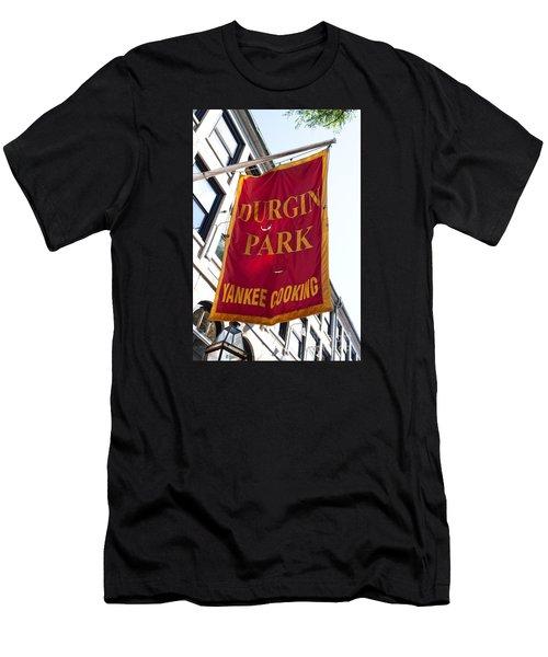 Flag Of The Historic Durgin Park Restaurant Men's T-Shirt (Athletic Fit)