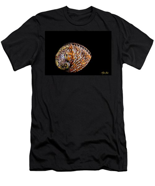 Flame Abalone Men's T-Shirt (Athletic Fit)