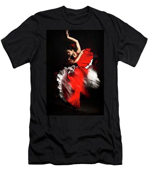Flamenco Dancer - 01 Men's T-Shirt (Athletic Fit)