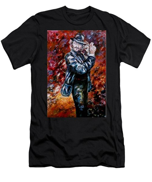 Flamenco Dancer 19 Men's T-Shirt (Athletic Fit)