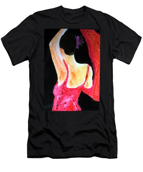 Flamenco Evening Men's T-Shirt (Athletic Fit)