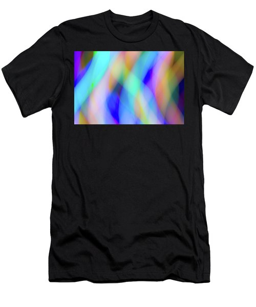 Flames Of Iridescence Men's T-Shirt (Athletic Fit)
