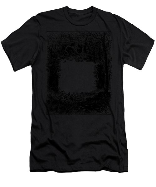 Flaming Colourful Feathers Men's T-Shirt (Athletic Fit)