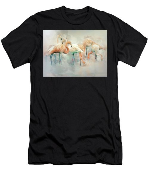 Flamingo Fantasy Men's T-Shirt (Athletic Fit)