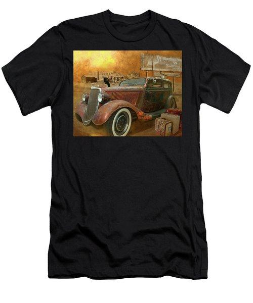 Flamingo Land Men's T-Shirt (Athletic Fit)
